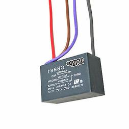 HQRP Capacitor for Harbor Breeze Ceiling Fan 4.5uf+5uf+6uf 4