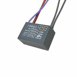 HQRP Capacitor CBB61 fits Harbor Breeze Ceiling Fan 5uf+6uf+7uf 5-Wire