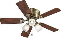 Harbor Breeze Ceiling Fan Centreville 42-in Antique Brass Fl