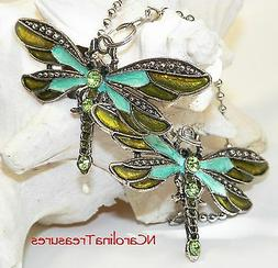 CEILING FAN CHAIN LIGHT SWITCH PULL DRAGONFLY ANTIQUE SILVER