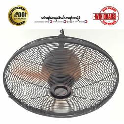 Ceiling Fan Oil Rubbed Bronze Indoor Outdoor 3 Blade Greenho