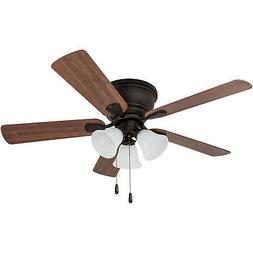 Prominence Home Ceiling Fan Saddle Ridge Low-Profile Hugger