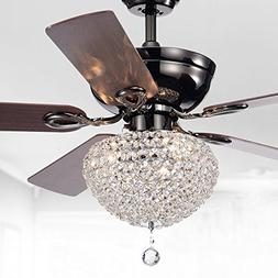 Ceiling Fan with Lights 52 Inch For Master Bedroom With Chan