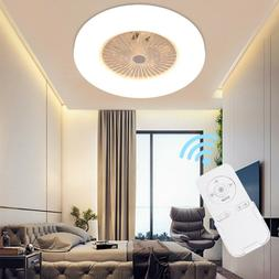 Ceiling Fan With Light Kit Remote Control LED Lamp Dimmable