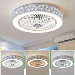 Ceiling Fan With Light Remote Control LED Ceiling Lamp Dimma