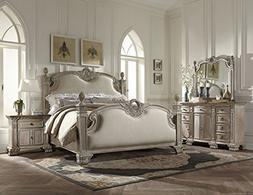 Chatelet French Style 5 Piece Queen Upholstered Bedroom Set