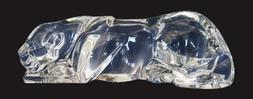"""Baccarat Clear Crystal Female Lion - 10 1/2"""" x 3"""" h - Limite"""