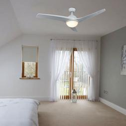 contemporary ceiling fan with led panel light