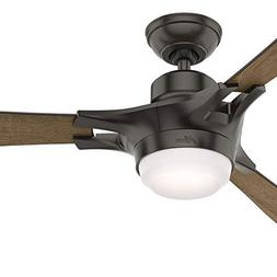 Hunter Fan 52 inch Contemporary Noble Bronze Indoor Ceiling