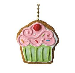 Cupcake Cookie Bakery Sweet Shop Ceiling Fan Light Pull