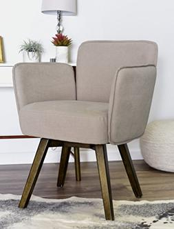 ELLE Décor Esme Home Office Chair - French Blush Pink