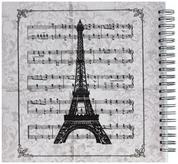 3dRose db_99335_2 Vintage Song Sheet with Eiffel Tower Frenc