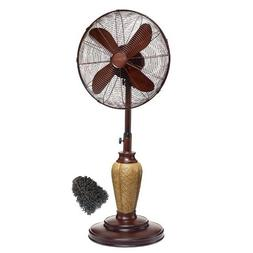 DBF0889 Decobreeze Pedestal Fan, Outdoor Standing Oscillatin