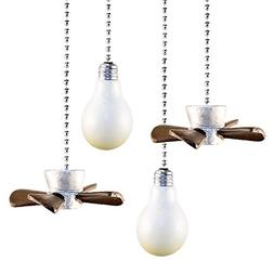 Set of 4 Decorative Fan and Light Pulls by GetSet2Save