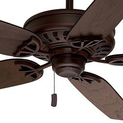 "Casablanca 54"" Energy Star Ceiling Fan in Brushed Cocoa with"