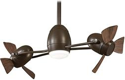 "Minka-Aire F304L-ORB/MM Gyro LED 42"" Ceiling Fan with Wall C"