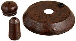 Casablanca 99133 Cap & Finial Pack Industrial Rust