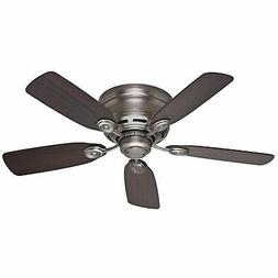 Hunter Fan Low Profile IV - 42 Ceiling Fan - 5 Blades - Quie