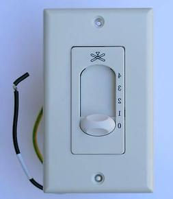 Four Speed Wall Control for All Ceiling fans up to 212mm LAR