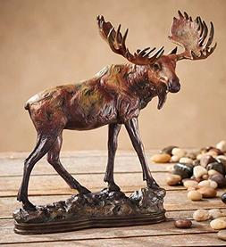 Gentle Giant - Moose Sculpture by Danny Edwards