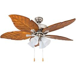 "Prominence Home 50768-01 Grayton Tropical Ceiling Fan , 52"","