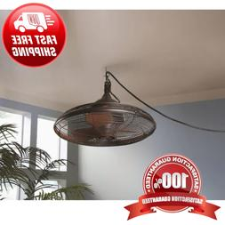 Hanging Downrod Indoor Outdoor Ceiling Fan Oil Rub Pavilion