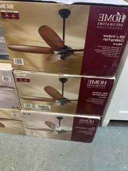 "HDC Altura 68"" Indoor Oil Rubbed Bronze Ceiling Fan with Rem"