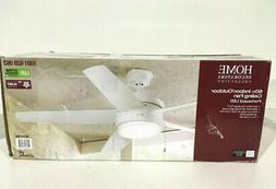 HDC Portwood 60 in. LED Indoor/Outdoor White Ceiling Fan YG5