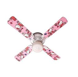 Ceiling Fan Designers Ceiling Fan Hello Kitty Sweet Dreams 4
