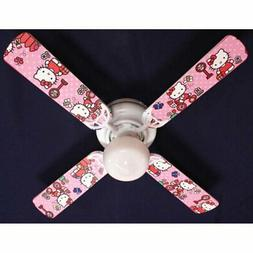 Ceiling Fan Designers Hello Kitty Sweet Dreams Indoor Ceilin