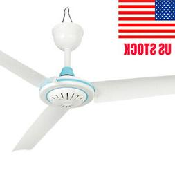 Home Portable Indoor Ceiling Fan Mini Hanging 3 Blades Cool
