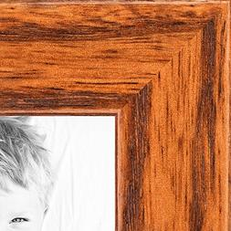 ArtToFrames 8x10 inch Honey on Red Oak Wood Picture Frame, W