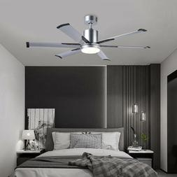 Hot 52''Industrial Ceiling Fan with 6 Aluminum Fan Blades &W
