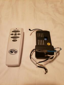 Hampton Bay / Hunter Ceiling Fan Remote Control and Receiver