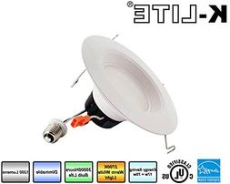 """K-LITE 6""""-Inch LED Retro Fit Recessed Downlight Fixture Dimm"""