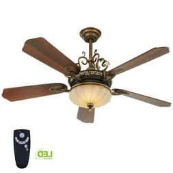 Home Decorators Collection 52 inch Indoor Ceiling Fan Cuatea