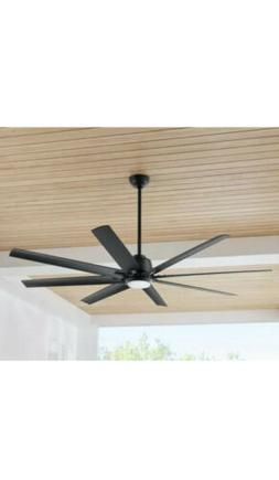 72 In. LED Light Ceiling Fan Indoor/Outdoor with Remote Cont