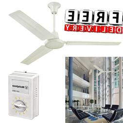 industrial ceiling fan 56 three blade large