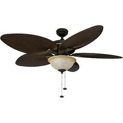 "Honeywell 52"" Island Palm 5 Blade Ceiling Fan"