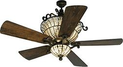 """Craftmade K10659 Ceiling Fan Motor with Blades Included, 52"""""""