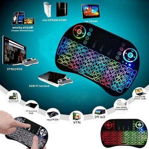2.4G Remote Touchpad Android Box HTPC