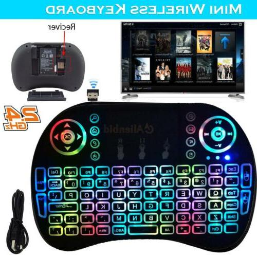 2.4G Remote Android TV Box HTPC
