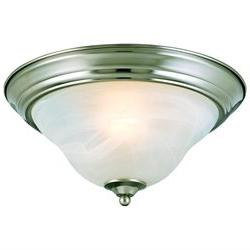 Hardware House 54-4650 2 Light Bristol Flush Mount Ceiling L