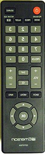 EMERSON 32FNT004 LCD HDTV Remote Control for Model Numbers: