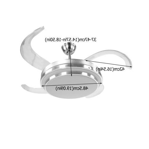 """42"""" Invisible Ceiling Lamp Dimmable"""