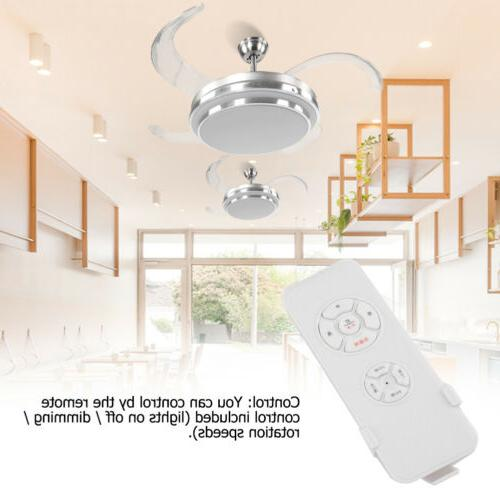 """42"""" Invisible Ceiling Lamp Control Dimmable LED"""