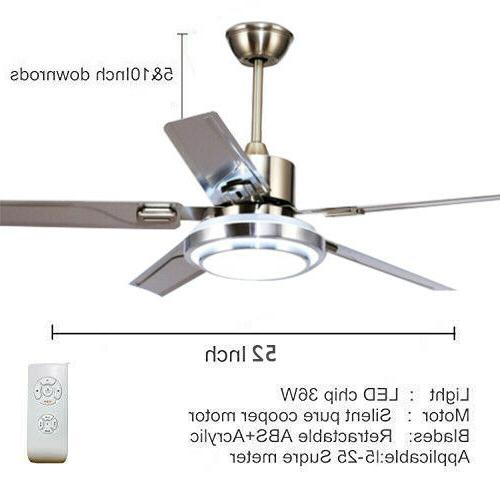 Home Remote Ceiling Lamp