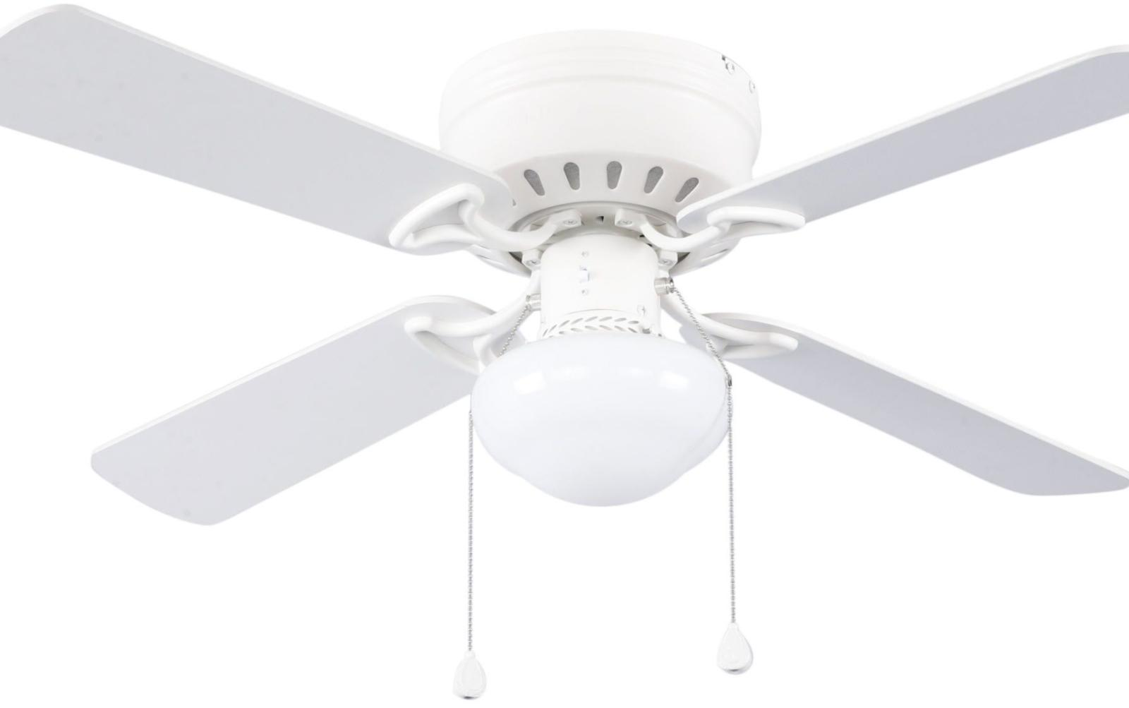 42 in white flush mount indoor ceiling