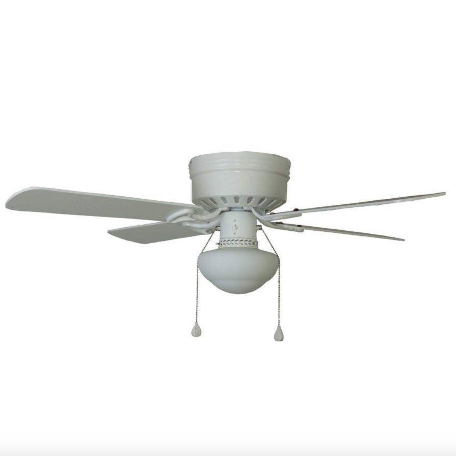 Harbor Breeze 42 WHITE Ceiling Fan with Kit