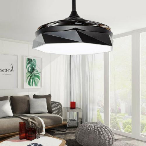 "42"" Modern Style Ceiling Fan with LED Light Macaron Home Dec"